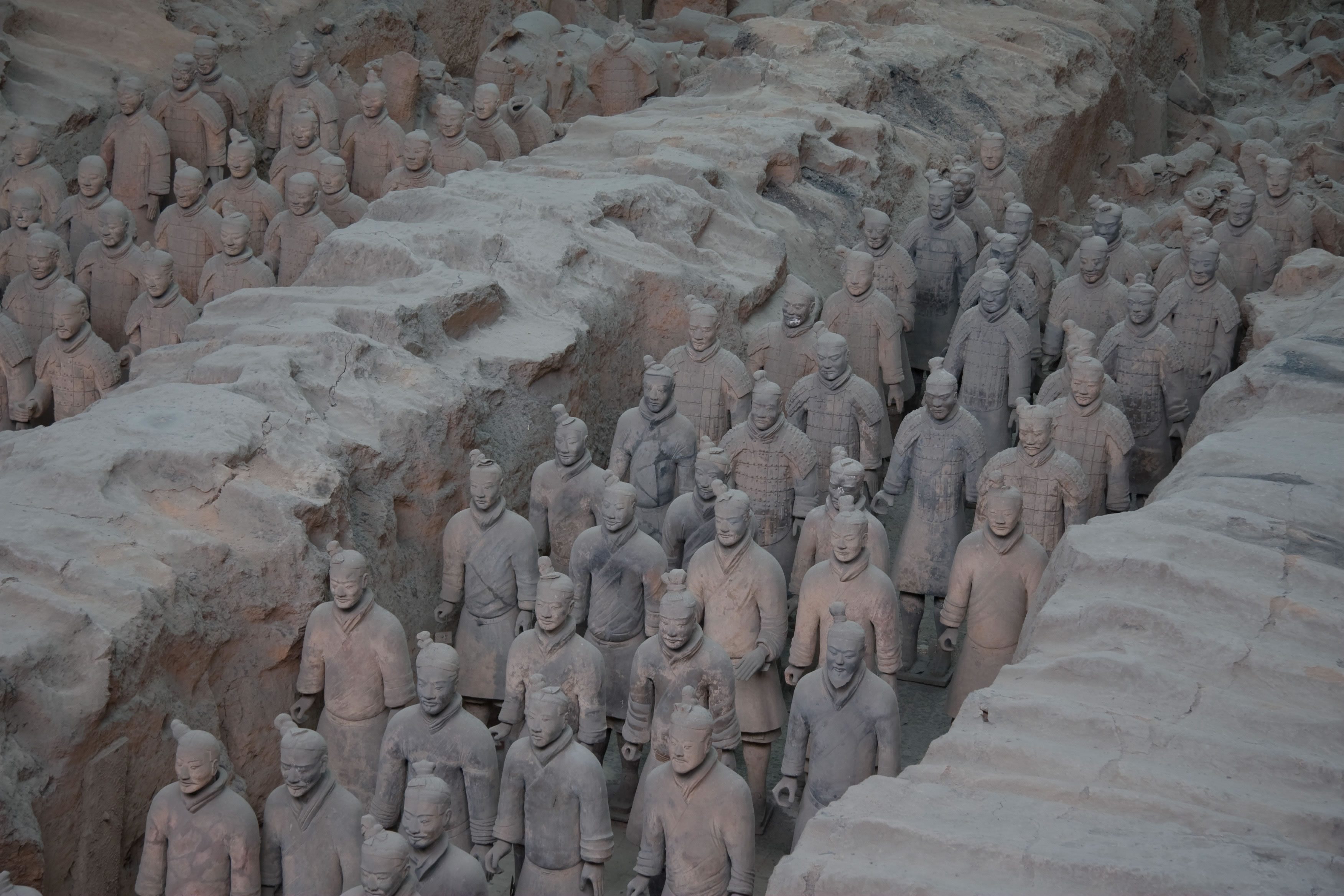 terracotta clay army images