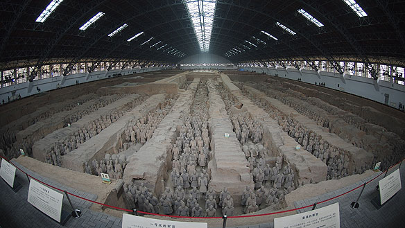 chinese clay warriors
