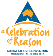 logo of the Global Atheist Convention of 2012