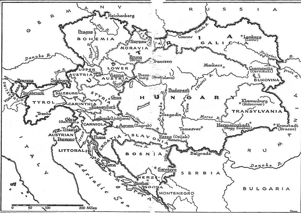 ageofthesageorghistory1848habsburgempi – Map of German Lander
