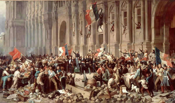 The french revolution of 1848 european history summary france for Poster revolution france