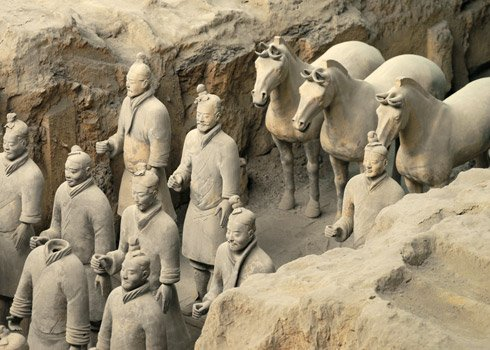 Location map Museum of Terracotta Warriors and Horses Xian ...  Location map Mu...