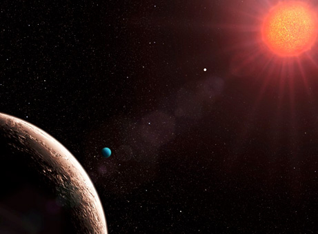 exoplanet Gliese 581 d