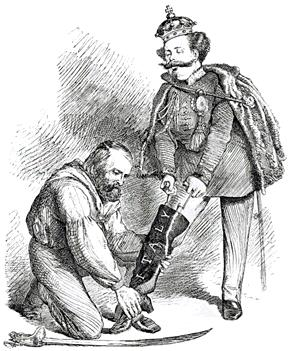 Italian unification cavour garibaldi unification italy essay caricature of victor emmanuels leg filling the boot of italy with the aid of gumiabroncs Images